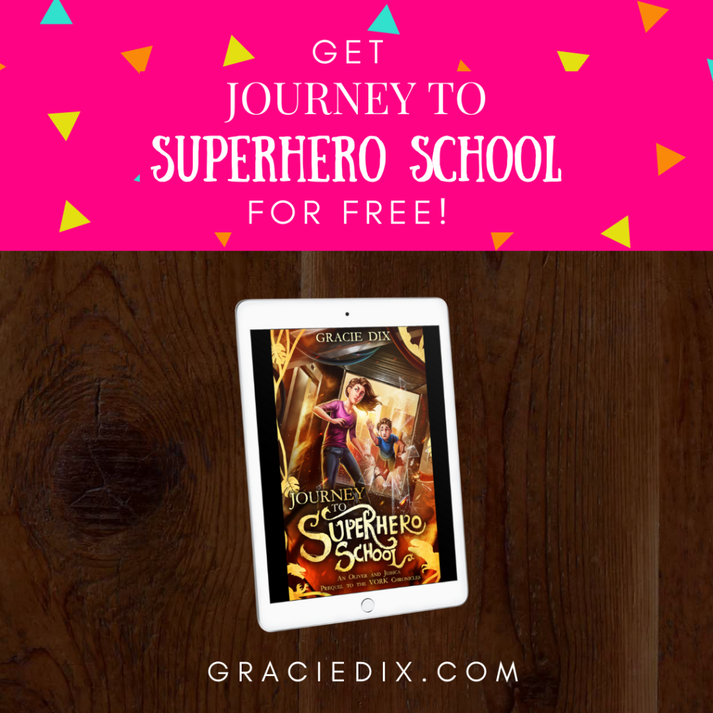 My book prequel, Journey To Superhero School is an exciting introduction into the world of The Vork Chronicles. Download it for free this week right here!