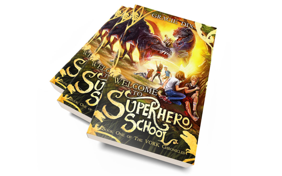 Celebrate National Superhero Day With My New Book!