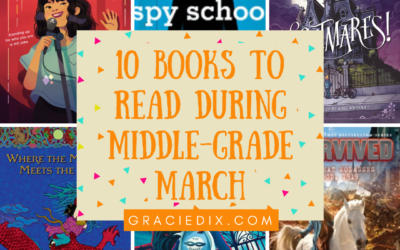 10 Books To Read During Middle-Grade March