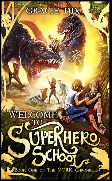 The time has finally come! You can pre-order Welcome To Superhero School, my debut novel, ahead of its release on April 28th!
