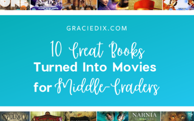 10 Great Books Turned Into Movies for Middle-Graders