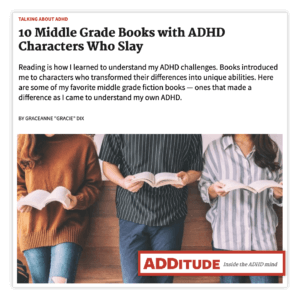 ADDitude Magazine - Gracie Dix