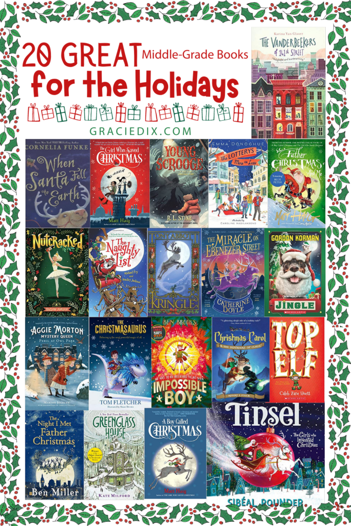 20 Great Middle-Grade books for the Holidays