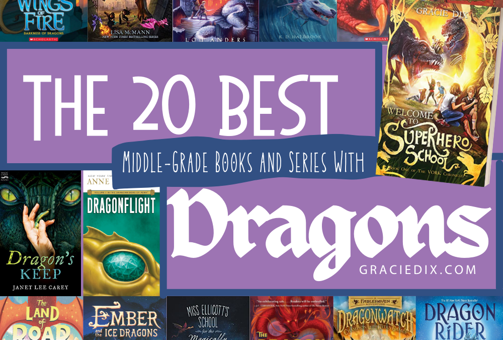The 20 Best Middle-Grade Books and Series With Dragons